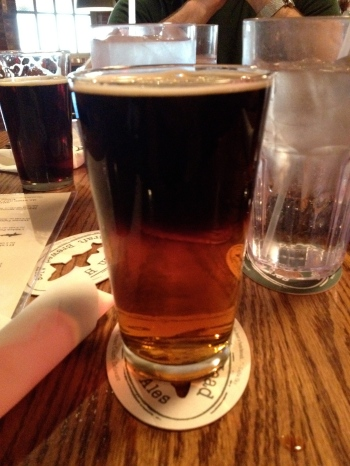 Dogfish Head Black and Tan Beer